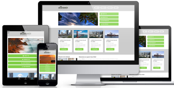 Ultronic Theme for SharePoint